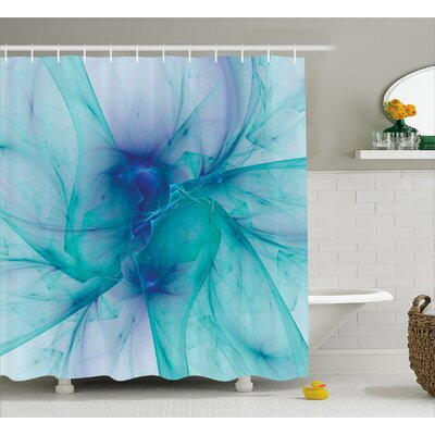 Camillei Modern Creative Artwork Shower Curtain Size: 69 W x 84 L