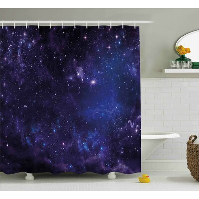 Belz Inspiring Starway View Shower Curtain Size: 69 W x 84 L