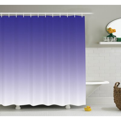 Fred Modern Twilight Design Shower Curtain Size: 69 W x 70 L