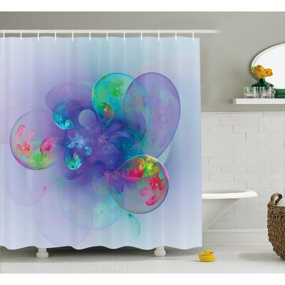 Cammi Creative Modern Design Shower Curtain Size: 69 W x 70 L