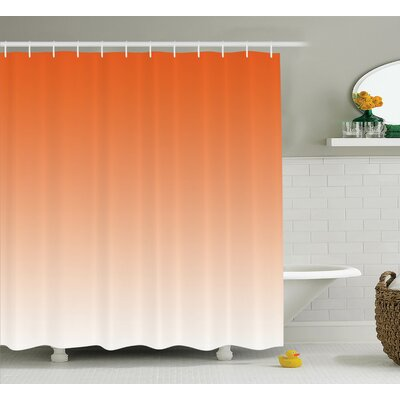 Inspired Sunset in Hot Desert Shower Curtain Size: 69 W x 75 L