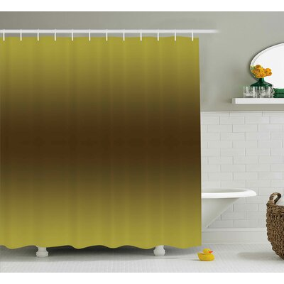Beaird Vintage Digital Design Print Shower Curtain Size: 69 W x 75 L