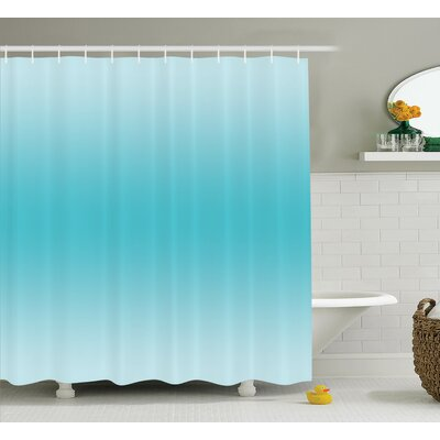 Fred Tropical Aquatic Print Shower Curtain Size: 69 W x 75 L