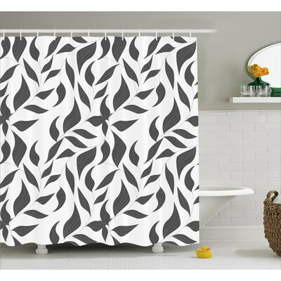 Bates Shower Curtain Size: 69 W x 70 L