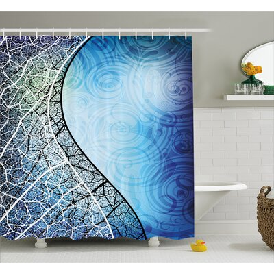 Celestyna Psychedelic Branches Shower Curtain Size: 69 W x 84 L