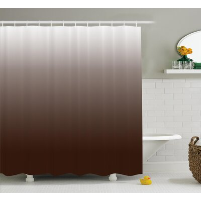 Inspired Digital Chocolate Decor Shower Curtain Size: 69 W x 75 L