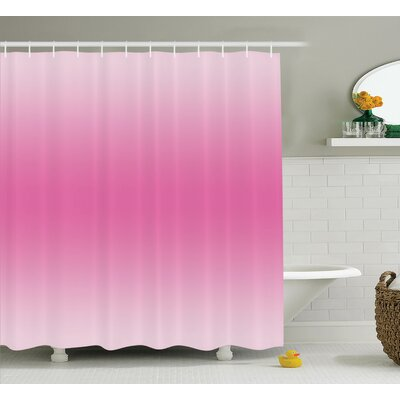 Maddox Girly Fairytale Design Shower Curtain Size: 69 W x 70 L