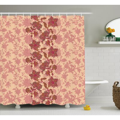 Armando Vibrant Colored Pattern Shower Curtain Size: 69 W x 75 L