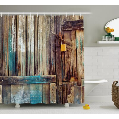 India Color Details Mansion Shower Curtain Size: 69 W x 75 L
