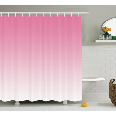 Inspired Dreamy Digital Print Shower Curtain Size: 69 W x 84 L
