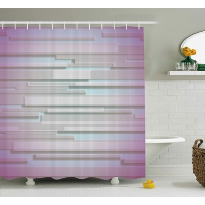 Berardi Minimal Unusual Figures Shower Curtain Size: 69 W x 84 L