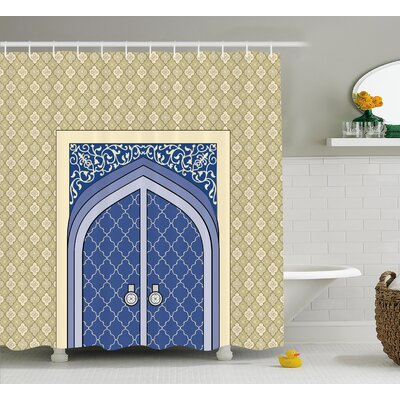 Corette Persian Ottoman Culture Shower Curtain Size: 69 W x 84 L