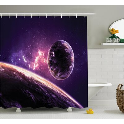 Belz Nebula Celestal Cornet Shower Curtain