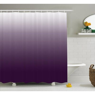 Inspired Aubergine Inspired Decorations Shower Curtain Size: 69 W x 70 L