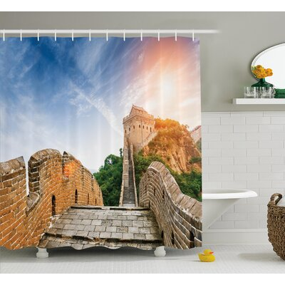View Legendary China Dynasty Shower Curtain Size: 69 W x 75 L