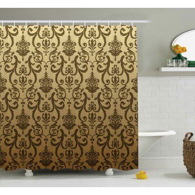 Basilia Ancient Times Classic Shower Curtain Size: 69 W x 84 L