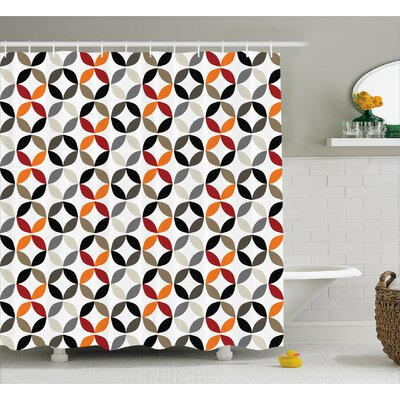 Fairlee Decor Shower Curtain Size: 69 H x 70 W