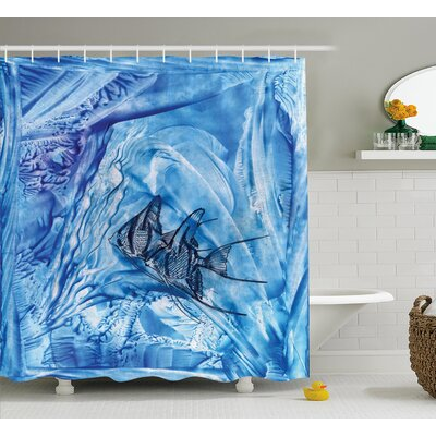 Decor Water-Resistant Shower Curtain Size: 69 H x 75 W