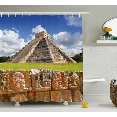 Ancient Shower Curtain Size: 69 H x 75 W