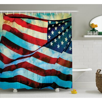 Decor Shower Curtain Size: 69 H x 75 W