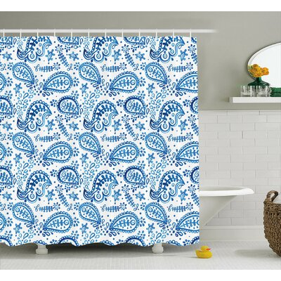 Matanna Decor Shower Curtain Size: 69