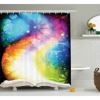 Magic Decor Shower Curtain Size: 69 H x 70 W