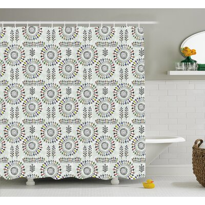 Emmi Decor Shower Curtain Size: 69 H x 75 W