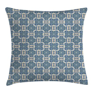 Mandala Ethnic Floral Pattern Cushion Pillow Cover Size: 24 x 24