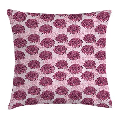 Modern Floral Pillow Cover Size: 16 x 16
