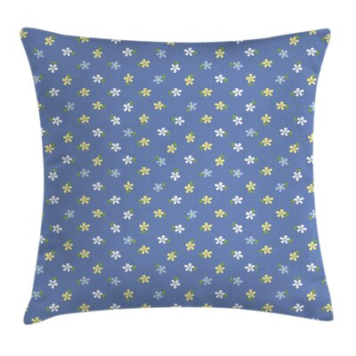 Small Spring Daisies Cushion Pillow Cover Size: 24 x 24