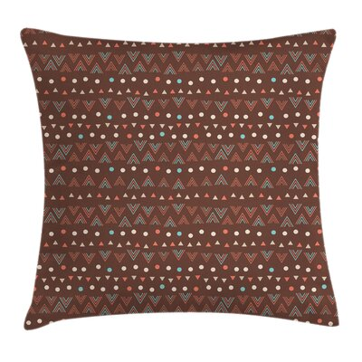 Stain Resistant Pillow Cover with Zipper Size: 20