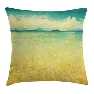 Beach Pillow Cover Size: 18 x 18