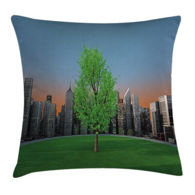 Forest Square Pillow Cover Size: 24 x 24