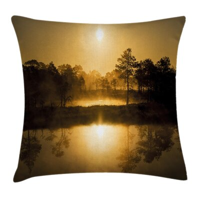 Modern Scenery Pillow Cover Size: 18 x 18