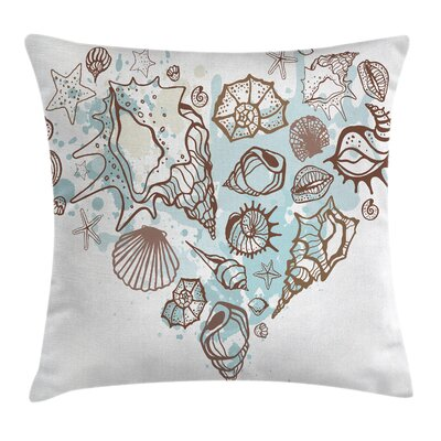 Nautical Pillow Cover Size: 16 x 16