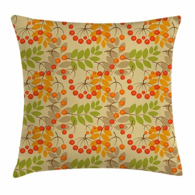 Autumn Season Square Pillow Cover Size: 24 x 24