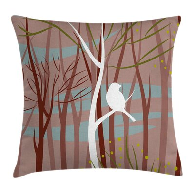 Forest Pillow Cover Size: 18 x 18