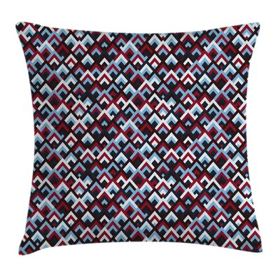 Geometric and Modern Square Pillow Cover Size: 18 x 18
