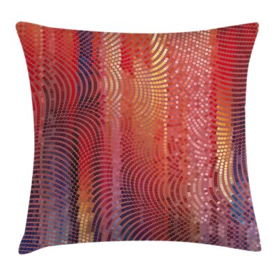 Graphic Print Pillow Cover with Zipper Size: 16 x 16