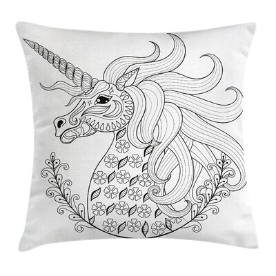 Modern Animal Pillow Cover Size: 16 x 16