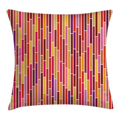Stripe Lines Cushion Pillow Cover Size: 20 x 20