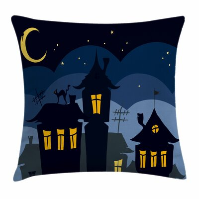 Halloween Pillow Cover Size: 24 x 24