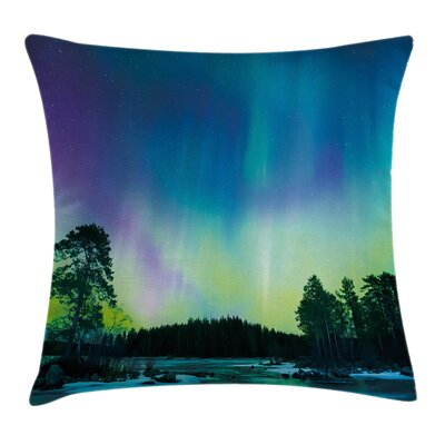 Lake Forest Woods Cushion Pillow Cover Size: 24 x 24