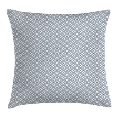 Circular Oval Modern Square Pillow Cover Size: 18 x 18