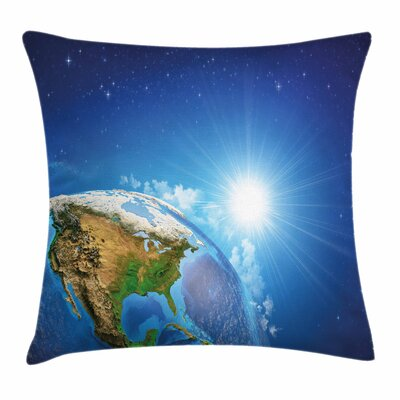 United States Pillow Cover Size: 18 x 18