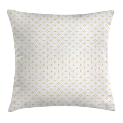 Star Like Figures Classy Cushion Pillow Cover Size: 18 x 18