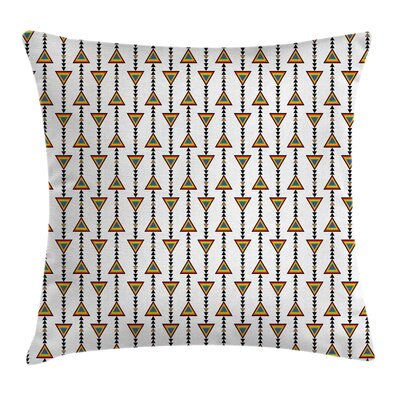 Native American Style Cushion Pillow Cover Size: 18 x 18