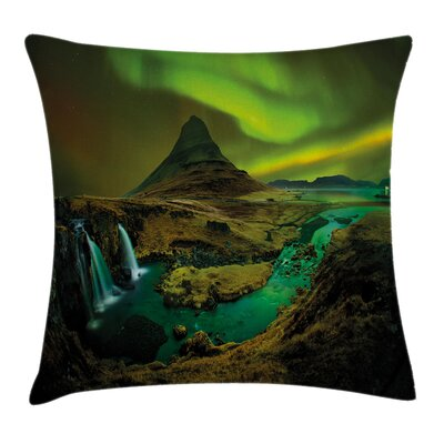 Waterfall Creek Cushion Pillow Cover Size: 16 x 16