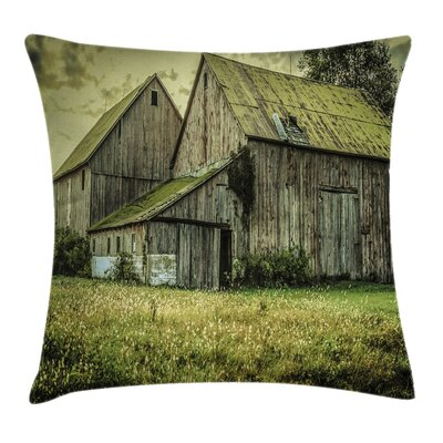 Old House Pillow Cover Size: 18 x 18