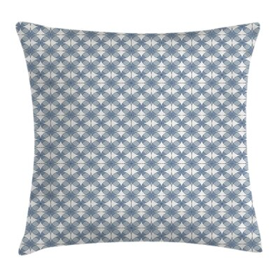 Modern Complex Circular Shapes Square Pillow Cover Size: 24 x 24